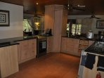 Open  kitchen over living and dining rooms