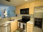 Fully equipped kitchen. New appliances