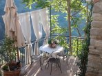 Beautiful terrace, with view of 13th Century San Francesco