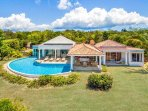 Le Mas Caraibes...3 BR villa in French Lowlands...800 480 8555