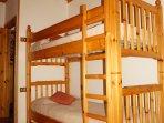 camera doppia letto a castello