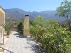 BBQ area and Kyrenia mountains
