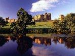 alnwick castle 4 miles