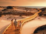 Enjoy the many boardwalks to the beach