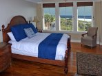 Wake up to views of the beach from the Master bedroom