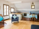 Open plan kitchen/diner
