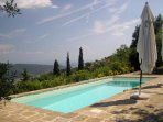Private, tranquil yet close to the vibrant Hill Top town of Cortona
