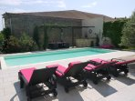 Holiday villa France with pool