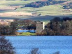Loch Leven Castle is worth a visit
