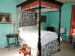 A fine looking four poster double bed