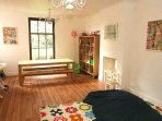 The play room is ideal for children