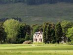 Sitting in the Great Glen, self catering holiday lodge near Laggan, Scottish Highlands