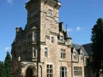 Impressive Scottish castle apartment in immaculate grounds