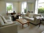 Living room towards Chapel Lane
