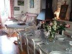 Le salon et salle à manger