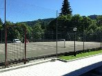Tennis court with Studio Marg