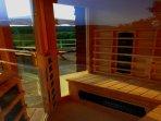 Le sauna à chaleur sèche , réputé pour les douleurs musculaire , pour la peau et pour la détente...