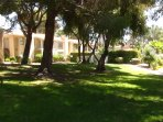 Grounds are beautiful and well maintained.