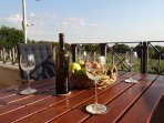 Relax with good wine and Italian cuisine