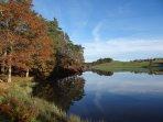 Randonner à pied ou à vélo, pratiquer la pêche autour des 5 étangs de la commune.
