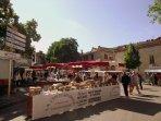 Saint-Antonin-Noble-Val Sunday food market