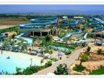 Nearby Aphrodite water park.