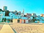 Montgat town & beach