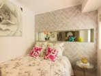 A cosy, comfortable and well decorated room for a wonderful night's sleep.
