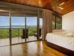 Master bedroom, king bed, amazing views