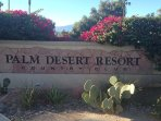 LOCATED IN THE PALM DESERT RESORT AND COUNTRY CLUB