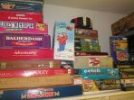 LOTS OF GAMES, BOOKS AND MAGAZINES FOR YOUR ENJOYMENT