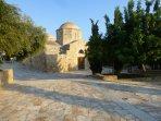 The Byzantine Church of Panagia Chrydeleousa  Emba Village.
