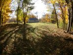 Spacious seclusion.  Enjoy hiking in the woods and communing with nature.