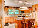 This kitchen comes fully equipped with quite literally anything you could possibly need