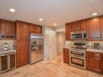 Upgraded Gourmet Kitchen with beverage center.