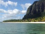 Our local beach Le Morne is a UNESCO world heritage site and has the best snorkeling
