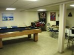 Pool Table Lower Level
