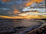 Echo Beach Sunset