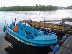 Boat ride on Negambo