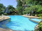 Shared swimming pool at 20 meters from the villa.