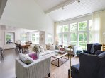Main Living Room Opens to Expansive Deck