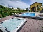 Pool and Hydro massage spa