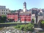 Villafranca the nearest town.