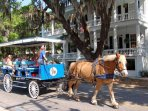 Take a ride through history in downtown Beaufort!