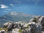 Abbadia Lariana from the mountain