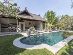 Lovely Villa Aisis! Designed in a mix of modern and traditional. The real Bali Feel!