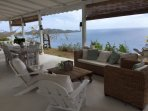 Sea view veranda