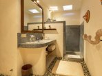 2nd Bathroom with shower and toilet.
