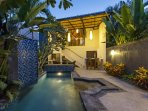 Bali AkasaDua Villa can be booked separately as 1 or 2 bedroom villa with private pool.