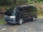 Hiace minibus available for rent